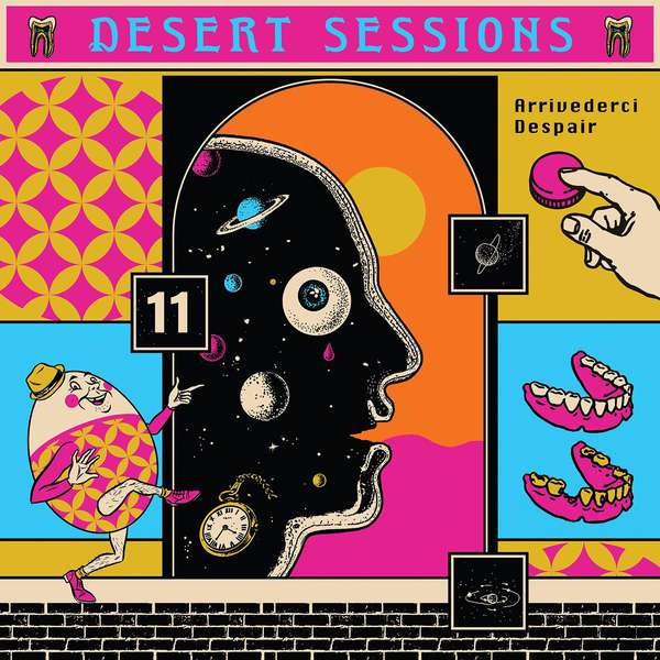 Various Artists – Desert Sessions, Vol. 11 And 12 cover artwork