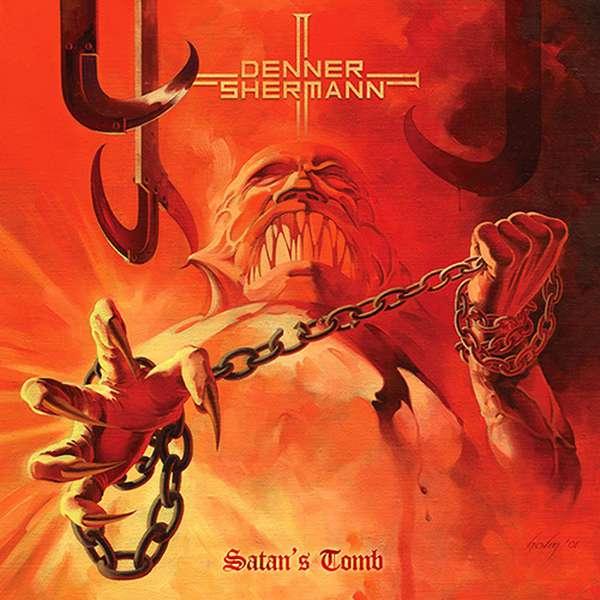 Denner/Shermann – Satan's Tomb EP cover artwork