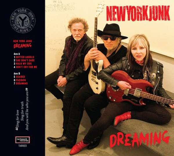 NEW YORK JUNK – DREAMING EP cover artwork