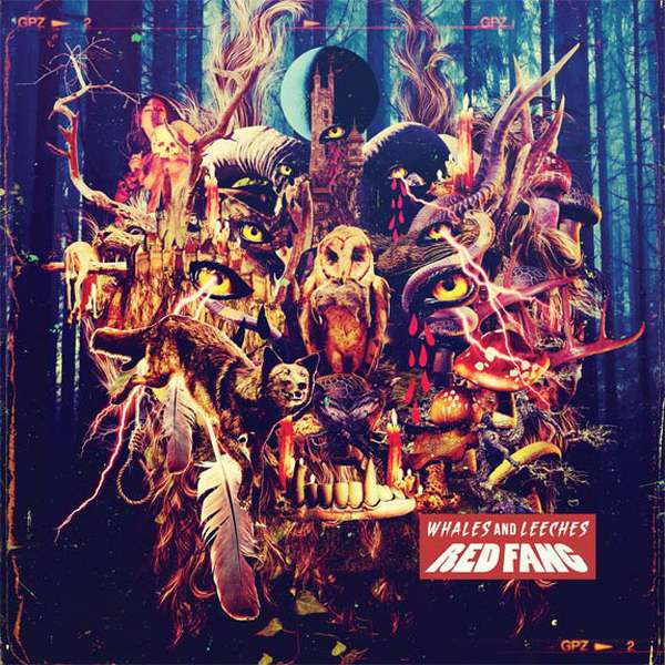 Red Fang – Whales And Leeches cover artwork