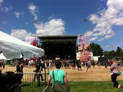 The Nines Festival main stage
