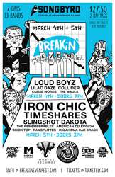 Two day Breakin' Even Fest in DC this March