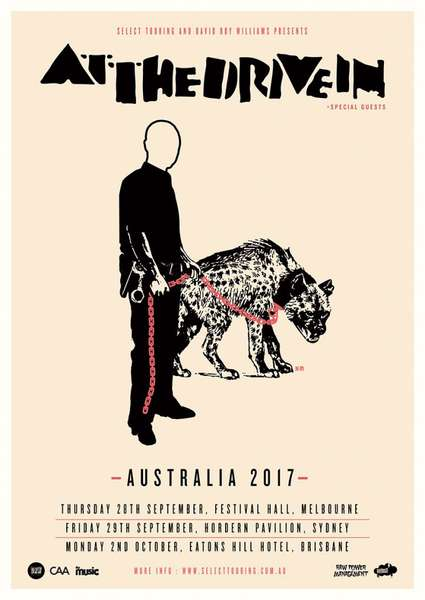 At The Drive In return to Australia this fall
