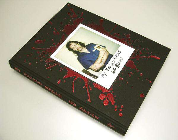 Collector's edition of GG Allin book out this summer