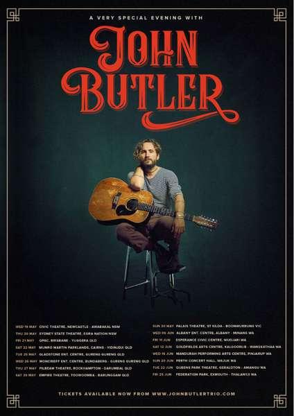 John Butler Australia dates