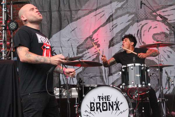 The Bronx are back