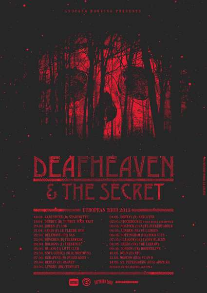 Deafheaven and The Secret Team Up For European Tour.