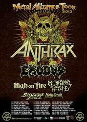 Tours: Metal Alliance tour dates