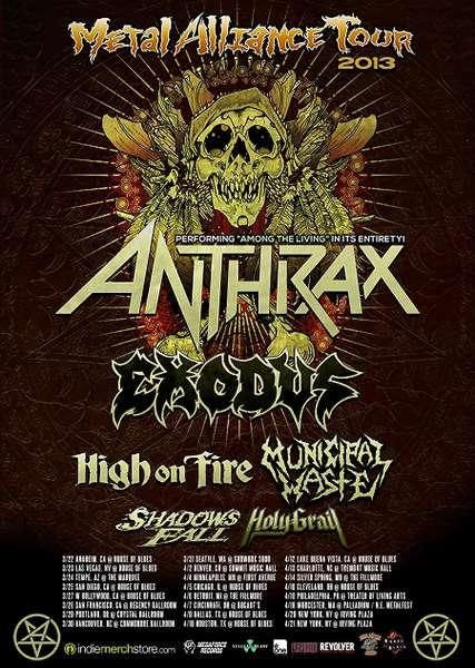 Metal Alliance tour dates
