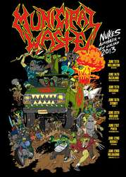 Tours: Municipal Waste tour (and beer)