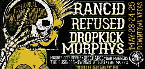 Punk Rock Bowling 2015 line-up finalized
