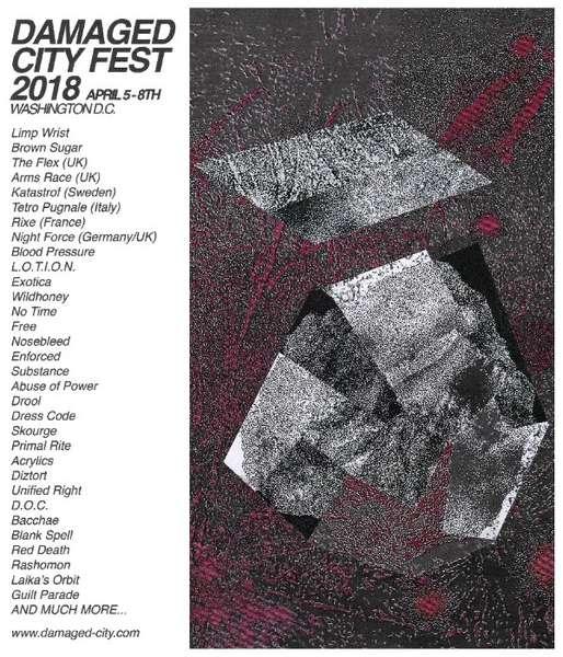 Damaged City Fest 2018 first wave includes Limp Wrist