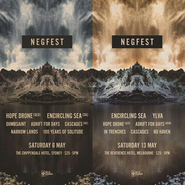 Negfest 2017 in Sydney and Melbourne