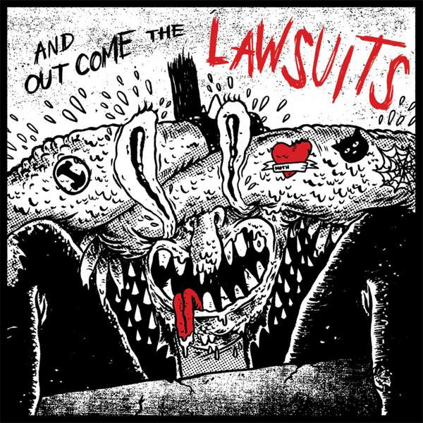 ...And Out Come The Lawsuits! Rancid covers album