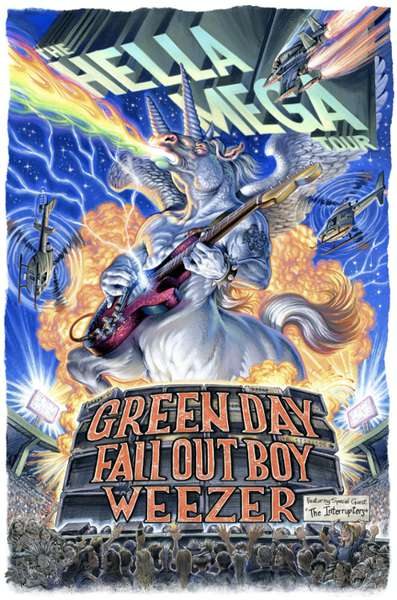 Green Day & Weezer & Fall Out Boy