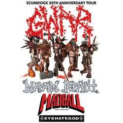 Eyehategod joins Gwar, Napalm Death, and Madball