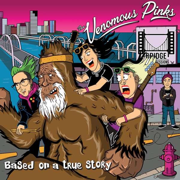 The Venomous Pinks: live EP