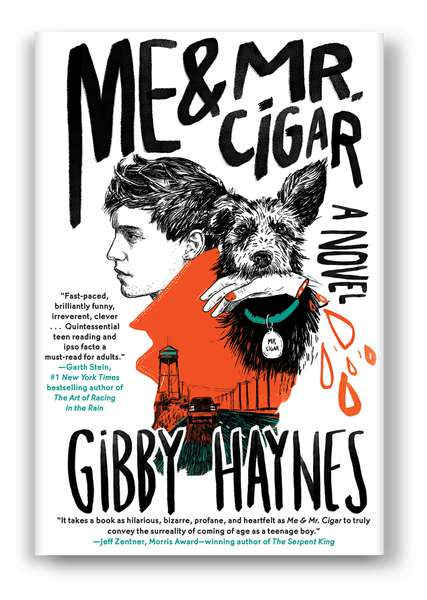 Gibby Haynes writes young adult book