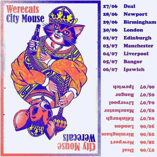 City Mouse UK tour with Werecats