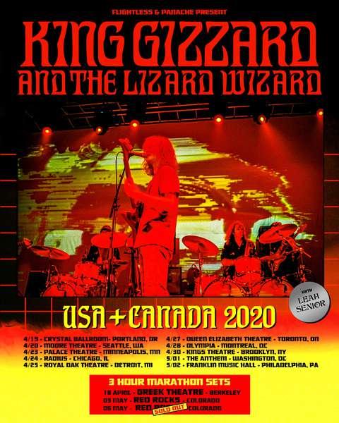 King Gizzard & The Lizard Wizard 2020
