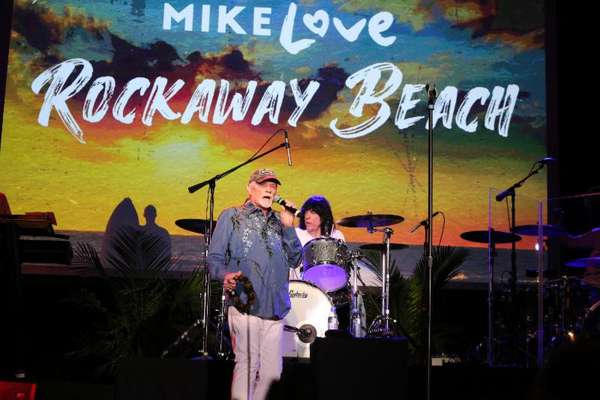 "New Mike Love album (Beach Boys) covers ""Rockaway Beach"""